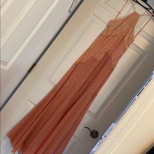 BCBG mermaid beaded gown size 0